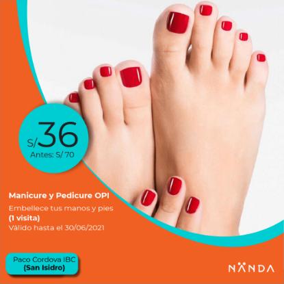 ¡Manicure & Pedicure OPI! 😍 - Paco Cordova IBC (SAN ISIDRO)