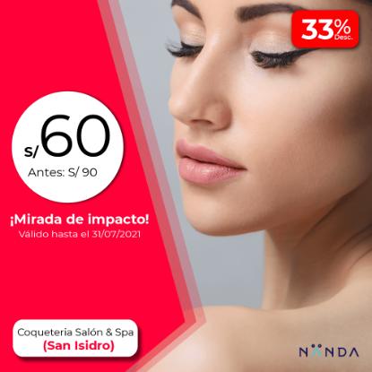 ¡Mirada de impacto! 😍 - Coquetería Salón & Spa (SAN ISIDRO)