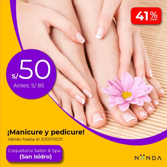 ¡Manicure y Pedicure! 😍 - Coquetería Salón & Spa (SAN ISIDRO)