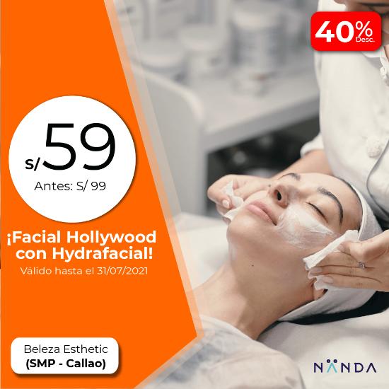 ¡Facial Hollywood con Hydrafacial! 😍 - Beleza Esthetic (SAN MARTIN DE PORRES)