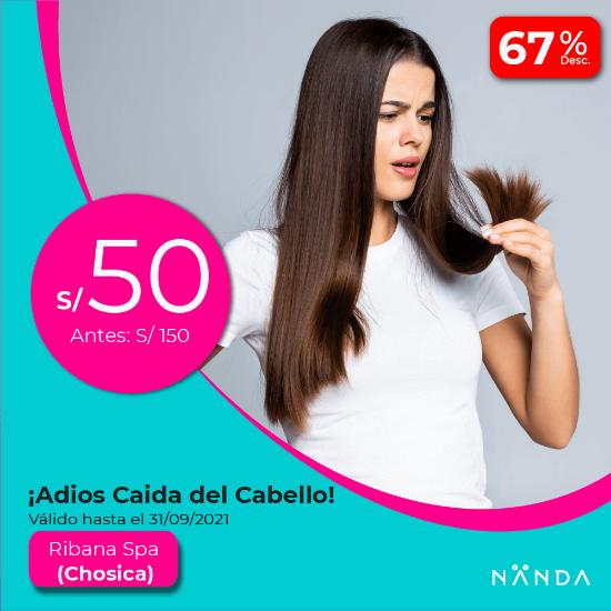 ¡Adios Caida del Cabello! 😍 - Ribana Spa (CHOSICA)
